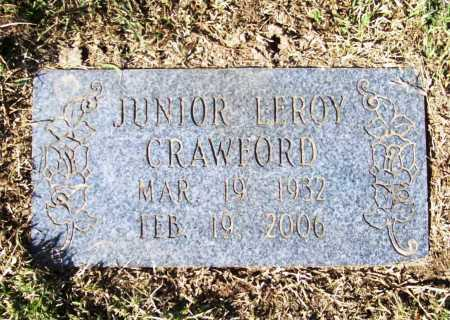 CRAWFORD, JUNIOR LEROY - Benton County, Arkansas | JUNIOR LEROY CRAWFORD - Arkansas Gravestone Photos