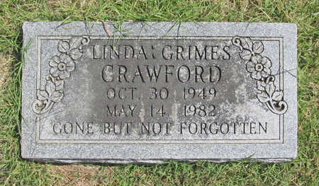 GRIMES CRAWFORD, LINDA KAYE - Benton County, Arkansas | LINDA KAYE GRIMES CRAWFORD - Arkansas Gravestone Photos