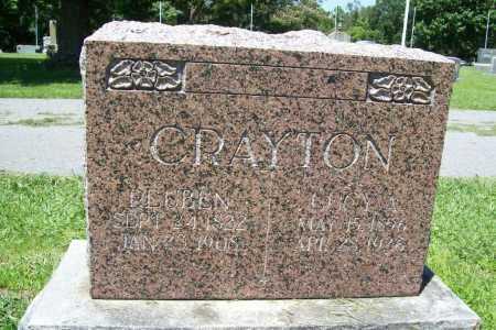 CRAYTON, LUCY A. - Benton County, Arkansas | LUCY A. CRAYTON - Arkansas Gravestone Photos