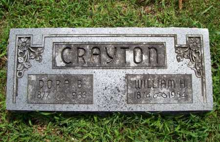CRAYTON, WILLIAM H. - Benton County, Arkansas | WILLIAM H. CRAYTON - Arkansas Gravestone Photos