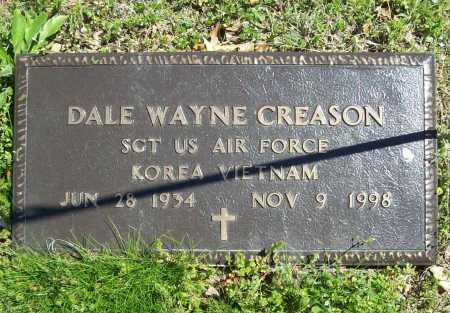 CREASON (VETERAN 2 WARS), DALE WAYNE - Benton County, Arkansas | DALE WAYNE CREASON (VETERAN 2 WARS) - Arkansas Gravestone Photos