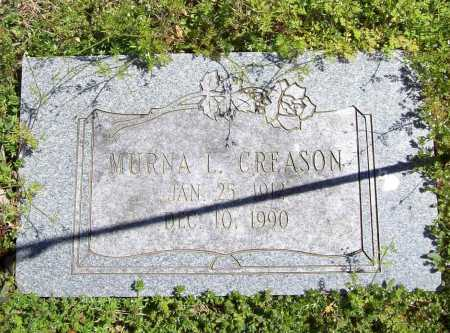 CREASON, MURNA L. - Benton County, Arkansas | MURNA L. CREASON - Arkansas Gravestone Photos
