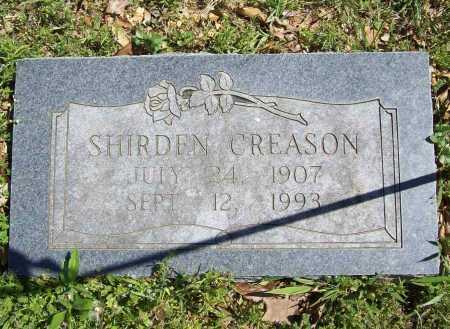 CREASON, SHIRDEN - Benton County, Arkansas | SHIRDEN CREASON - Arkansas Gravestone Photos
