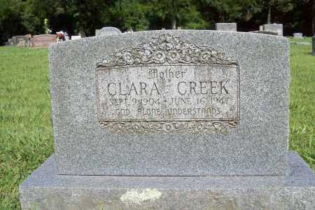 CREEK, CLARA - Benton County, Arkansas | CLARA CREEK - Arkansas Gravestone Photos