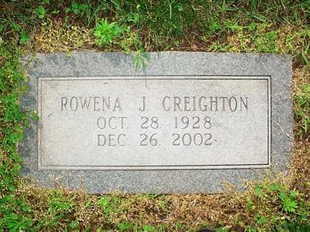 CREIGHTON, ROWENA J. - Benton County, Arkansas | ROWENA J. CREIGHTON - Arkansas Gravestone Photos