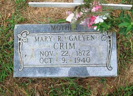 CRIM, MARY R. - Benton County, Arkansas | MARY R. CRIM - Arkansas Gravestone Photos