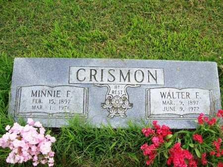 CRISMON, MINNIE F. - Benton County, Arkansas | MINNIE F. CRISMON - Arkansas Gravestone Photos