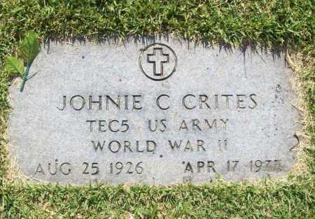 CRITES (VETERAN WWII), JOHNIE CLIFFORD - Benton County, Arkansas | JOHNIE CLIFFORD CRITES (VETERAN WWII) - Arkansas Gravestone Photos