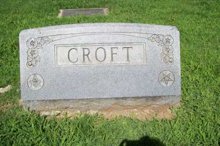CROFT, HEADSTONE - Benton County, Arkansas | HEADSTONE CROFT - Arkansas Gravestone Photos