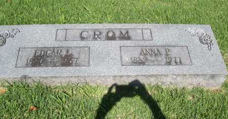CROM, ANNA P. - Benton County, Arkansas | ANNA P. CROM - Arkansas Gravestone Photos
