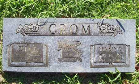 CROM, LENNIE R. - Benton County, Arkansas | LENNIE R. CROM - Arkansas Gravestone Photos