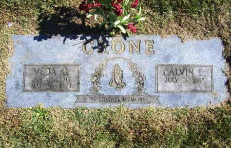 CRONE, VEDA G. - Benton County, Arkansas | VEDA G. CRONE - Arkansas Gravestone Photos