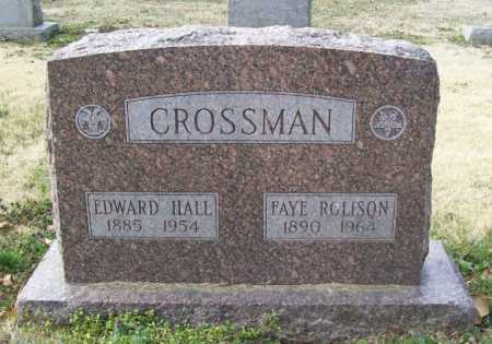 CROSSMAN, FAYE - Benton County, Arkansas | FAYE CROSSMAN - Arkansas Gravestone Photos