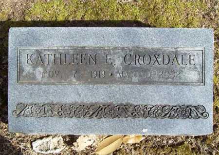 CROXDALE, KATHLEEN ELIZABETH - Benton County, Arkansas | KATHLEEN ELIZABETH CROXDALE - Arkansas Gravestone Photos