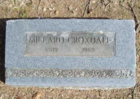 CROXDALE, MILLARD - Benton County, Arkansas | MILLARD CROXDALE - Arkansas Gravestone Photos