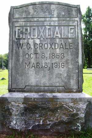 CROXDALE, W. CLINT - Benton County, Arkansas | W. CLINT CROXDALE - Arkansas Gravestone Photos