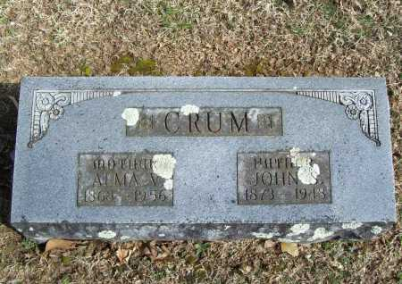CRUM, ALMA V. - Benton County, Arkansas | ALMA V. CRUM - Arkansas Gravestone Photos