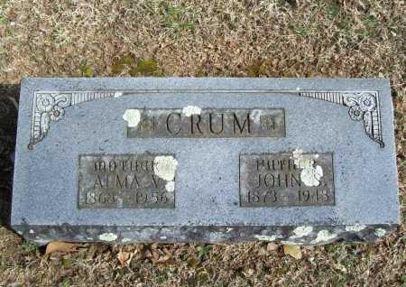 CRUM, JOHN S. - Benton County, Arkansas | JOHN S. CRUM - Arkansas Gravestone Photos