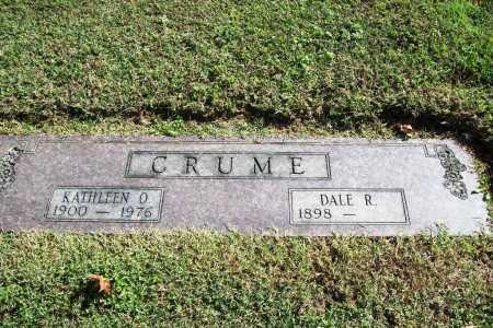 CRUME, KATHLEEN OPAL - Benton County, Arkansas | KATHLEEN OPAL CRUME - Arkansas Gravestone Photos