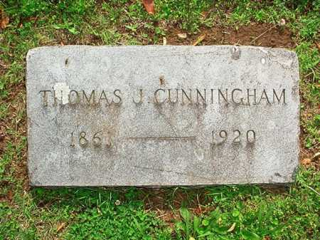CUNNINGHAM, THOMAS J. - Benton County, Arkansas | THOMAS J. CUNNINGHAM - Arkansas Gravestone Photos