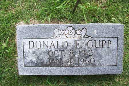 CUPP, DONALD E. - Benton County, Arkansas | DONALD E. CUPP - Arkansas Gravestone Photos
