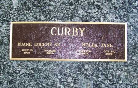 CURBY, NELDA JANE - Benton County, Arkansas | NELDA JANE CURBY - Arkansas Gravestone Photos