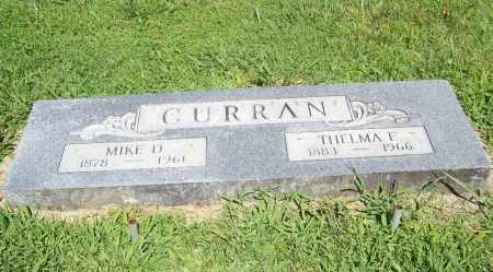 CURRAN, THELMA E. - Benton County, Arkansas | THELMA E. CURRAN - Arkansas Gravestone Photos