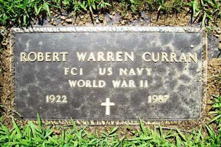 CURRAN (VETERAN WWII), ROBERT WARREN - Benton County, Arkansas | ROBERT WARREN CURRAN (VETERAN WWII) - Arkansas Gravestone Photos