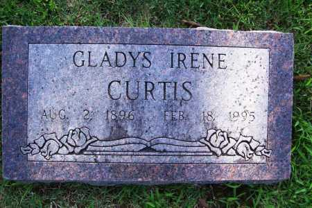 CURTIS, GLADYS IRENE - Benton County, Arkansas | GLADYS IRENE CURTIS - Arkansas Gravestone Photos