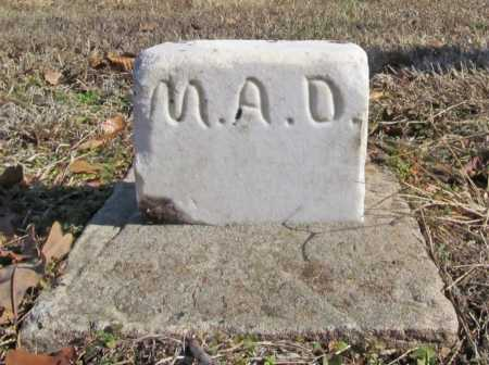 D., A. A. - Benton County, Arkansas | A. A. D. - Arkansas Gravestone Photos