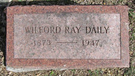 DAILY, WILFORD RAY - Benton County, Arkansas | WILFORD RAY DAILY - Arkansas Gravestone Photos