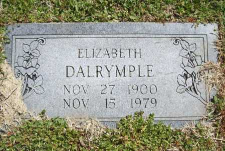DALRYMPLE, ELIZABETH - Benton County, Arkansas | ELIZABETH DALRYMPLE - Arkansas Gravestone Photos