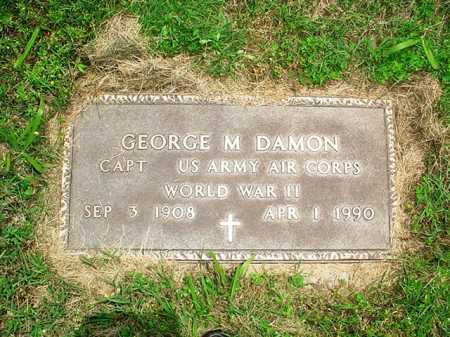 DAMON (VETERAN WWII), GEORGE M. - Benton County, Arkansas | GEORGE M. DAMON (VETERAN WWII) - Arkansas Gravestone Photos