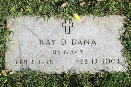 DANA (VETERAN), RAY D. - Benton County, Arkansas | RAY D. DANA (VETERAN) - Arkansas Gravestone Photos