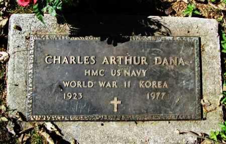 DANA (VETERAN 2 WARS), CHARLES ARTHUR - Benton County, Arkansas | CHARLES ARTHUR DANA (VETERAN 2 WARS) - Arkansas Gravestone Photos