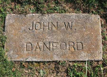 DANFORD, JOHN W. - Benton County, Arkansas | JOHN W. DANFORD - Arkansas Gravestone Photos