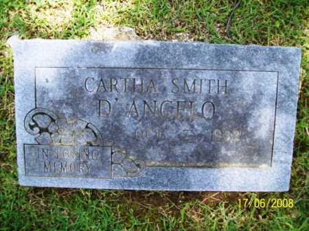 SMITH D'ANGELO, CARTHA - Benton County, Arkansas | CARTHA SMITH D'ANGELO - Arkansas Gravestone Photos