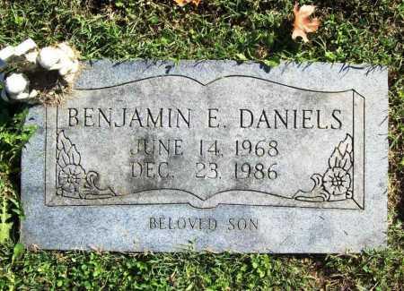 DANIELS, BENJAMIN E. - Benton County, Arkansas | BENJAMIN E. DANIELS - Arkansas Gravestone Photos