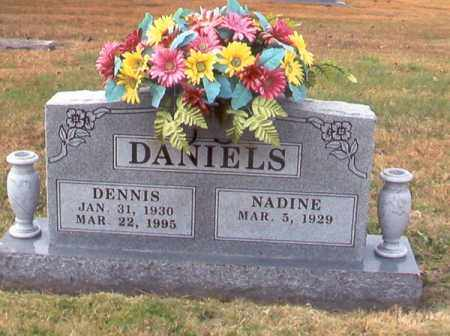 DANIELS, DENNIS JOE - Benton County, Arkansas | DENNIS JOE DANIELS - Arkansas Gravestone Photos