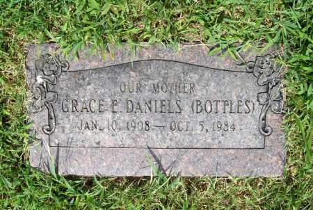 BOTTLES DANIELS, GRACE E. - Benton County, Arkansas | GRACE E. BOTTLES DANIELS - Arkansas Gravestone Photos