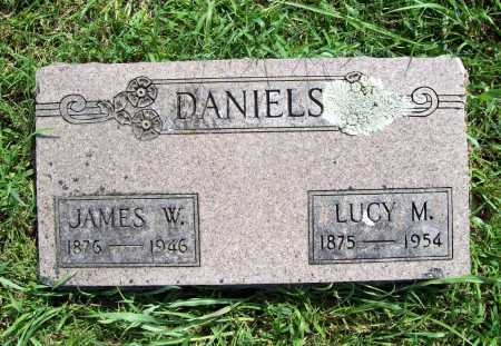 DANIELS, JAMES W. - Benton County, Arkansas | JAMES W. DANIELS - Arkansas Gravestone Photos