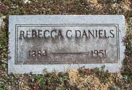 DANIELS, REBECCA C. - Benton County, Arkansas | REBECCA C. DANIELS - Arkansas Gravestone Photos