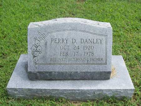 DANLEY, PERRY D. - Benton County, Arkansas | PERRY D. DANLEY - Arkansas Gravestone Photos