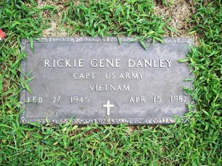 DANLEY (VETERAN VIET), RICKIE GENE - Benton County, Arkansas | RICKIE GENE DANLEY (VETERAN VIET) - Arkansas Gravestone Photos