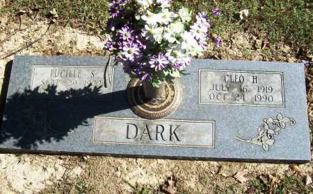 DARK, LUCILLE S. - Benton County, Arkansas | LUCILLE S. DARK - Arkansas Gravestone Photos