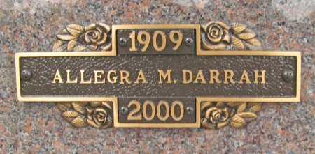 HEIMERDINGER DARRAH, ALLEGRA M. - Benton County, Arkansas | ALLEGRA M. HEIMERDINGER DARRAH - Arkansas Gravestone Photos