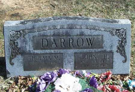 DARROW, JOHN H. - Benton County, Arkansas | JOHN H. DARROW - Arkansas Gravestone Photos