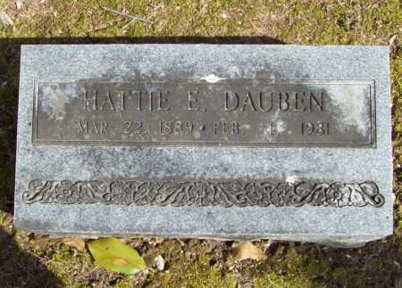 DAUBEN, HATTIE E. - Benton County, Arkansas | HATTIE E. DAUBEN - Arkansas Gravestone Photos