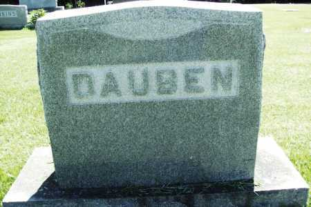 DAUBEN, HEADSTONE - Benton County, Arkansas | HEADSTONE DAUBEN - Arkansas Gravestone Photos