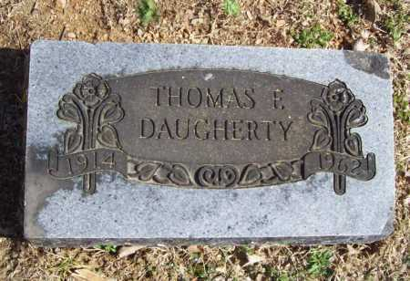 DAUGHERTY, THOMAS F. - Benton County, Arkansas | THOMAS F. DAUGHERTY - Arkansas Gravestone Photos
